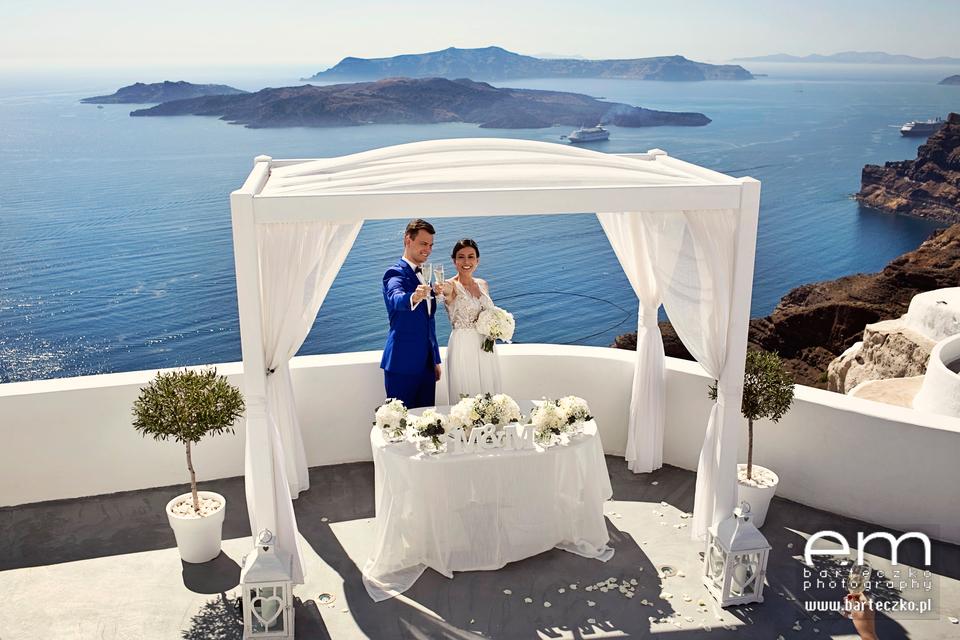 Ślub za granicą - Marzena i Michał