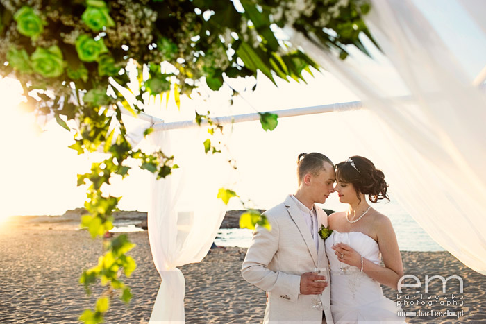 Ślub za granicą - Monika i Oskar