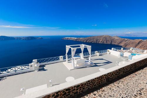 Ślub na Santorini - Grecja