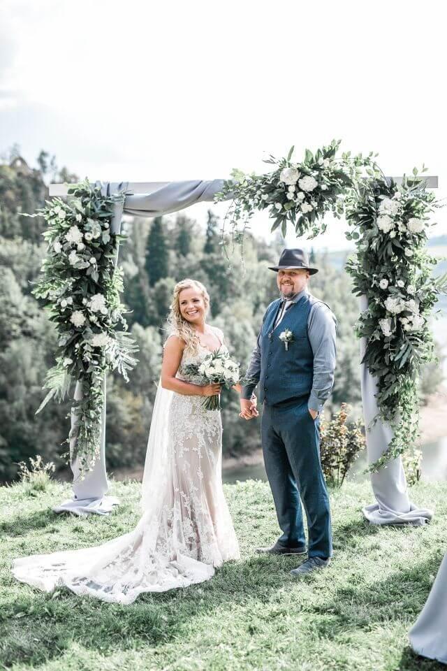 Ślub za granicą - Kinga i Chris