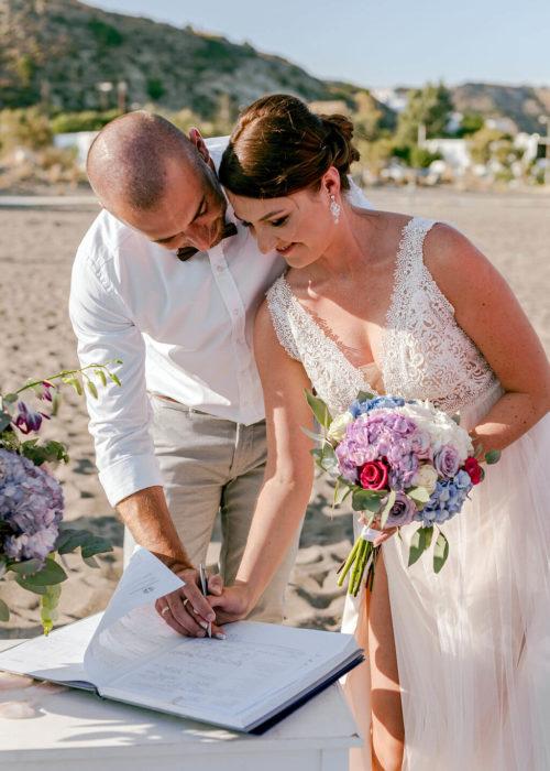 Ślub za granicą - Paulina i Marcin
