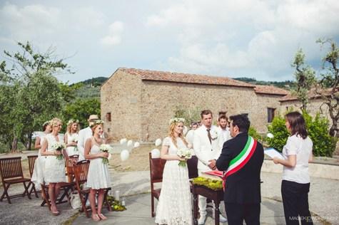 Ślub Toskania