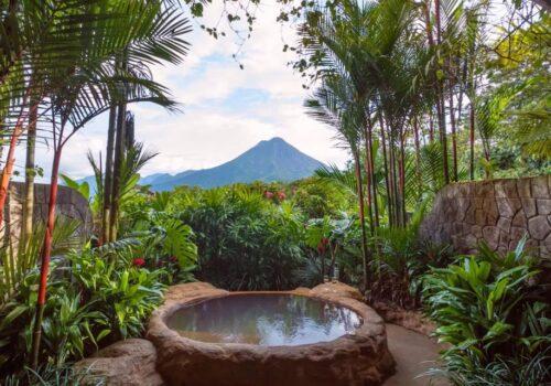 Kostaryka ślub cywilny widok na wulkan