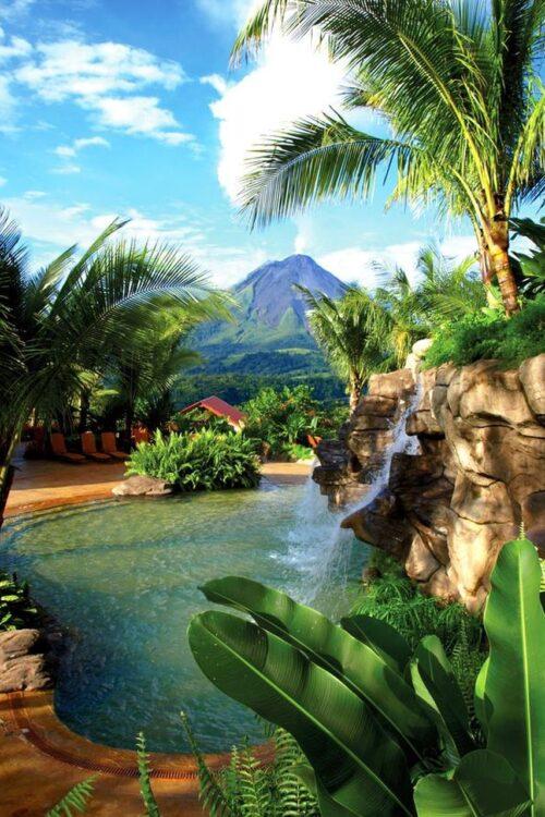 Kostaryka ślub cywilny z widokiem na wulkan