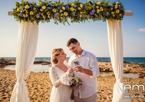 ślub na Krecie - wyspie skąpanem słońcem 1